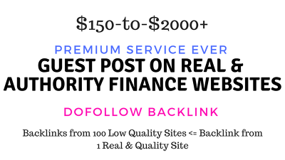 Guest Post on Real Authority finance, debt, insurance,tax sites