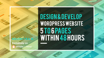 Design & develop bespoke,responsive, optimised WordPress Web