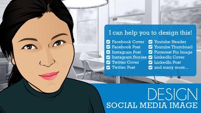 Design social media image