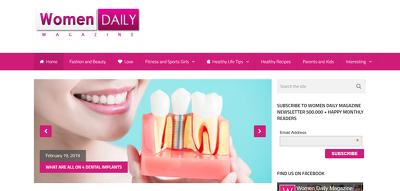 Add a Guest Post on Womendailymagazine.com, DA 54 Dofollow