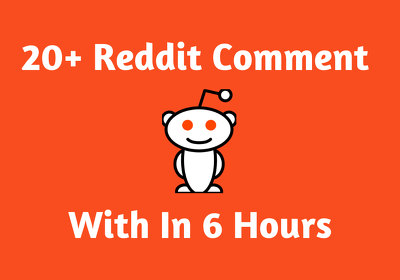 provide 20 Effective Reddit Comment