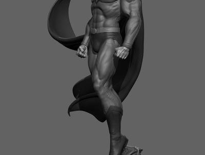 Create sculpt a professional 3D character
