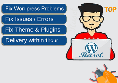 Fix Wordpress Any Issues And Errors within 1hour