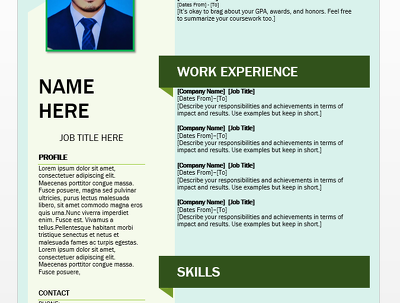Edit,review and design your CV and Resume