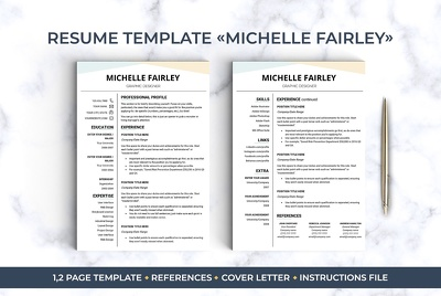 Edit Rewrite Design Resume Cv And Cover Letter