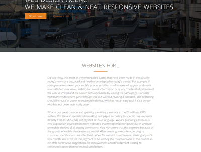 Make a custom HTML template and CSS sylesheet