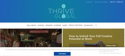 Publish Guest Post on Thrive Global - Thriveglobal.com - DA 76