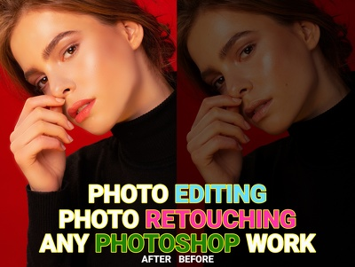 Do 3 photo retouching, image editing photoshop work fast