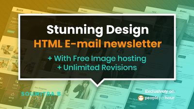 Design stunning HTML E-mail with free image hosting