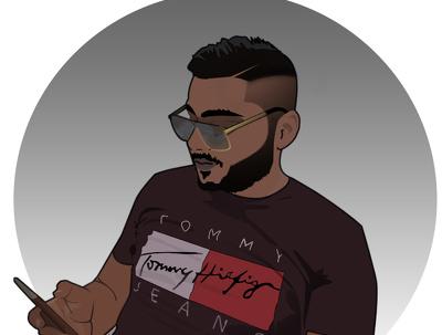 Do cartoon illustration of your photo