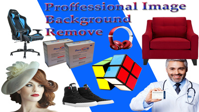 Change or remove the background of 25 images by clipping path