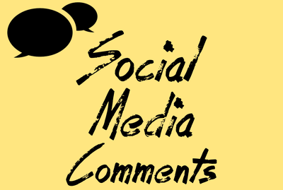 Comments to a post on your social media to increase SEO