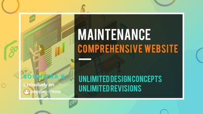 Undertake comprehensive Website Maintenance