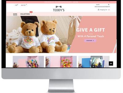 Design Shopify Store,Theme,Template, Custom Shopify Website