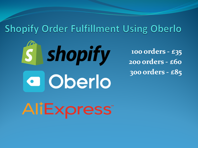 Fulfill Shopify Orders from Aliexpress using Oberlo