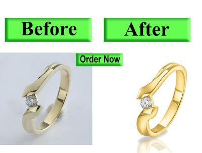 Retouch 10 Jewelry Photo to Studio HD Quality
