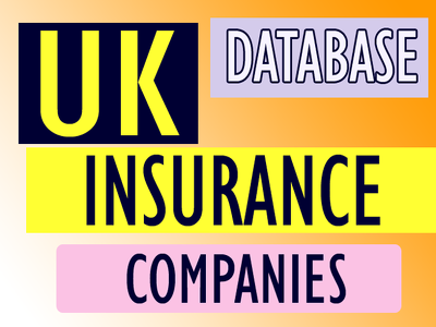 Give you 3000 uk insurance companies contact for email marketing