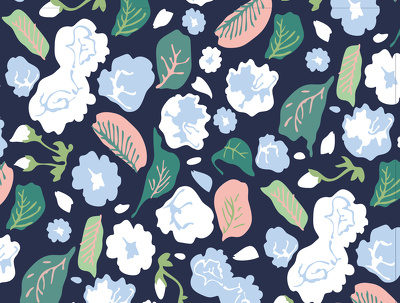 Create a seamless repeating pattern for textiles or stationery