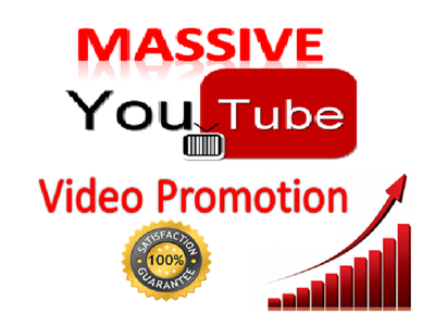 Provide Massive Youtube Video Organic Promotion