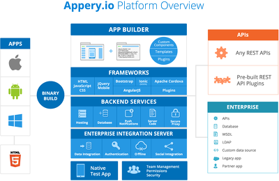 Appery.io Mobile App 1 hour Support  starts from