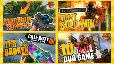 Design professional and eye catching gaming youtube thumbnails