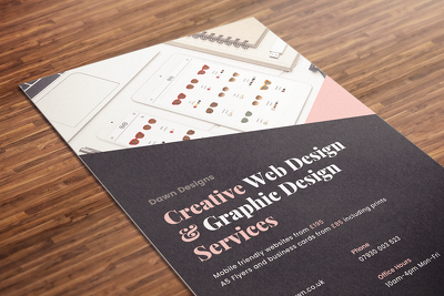 ☆ A5/A6 Flyer Design: Editable & Reusable for Web & Print