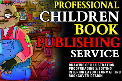 Do Your Children Book Illustration and Publish on Amazon, lulu