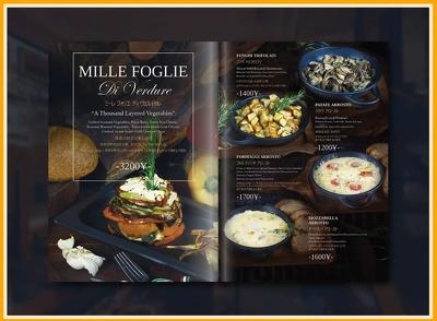 Design an EYE-CATCHING Restaurant Menu, Food Menu, Service Menu