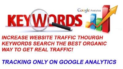 Keyword Based Google Organic Traffic