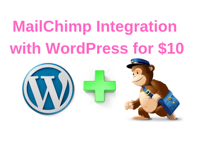 Integrate mailchimp with wordpress, create pop up and optin form