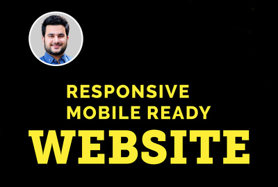 Create fully responsive WordPress website and landing page