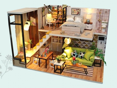 Creates 3D Floor Plan Or Sketchup Model