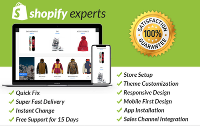 Customize your Shopify Store in 1 hour