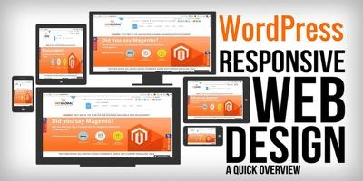 6 page Responsive WordPress Website, OnPage SEO, Free Code Setup