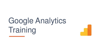 Private Google Analytics Training - 2 days