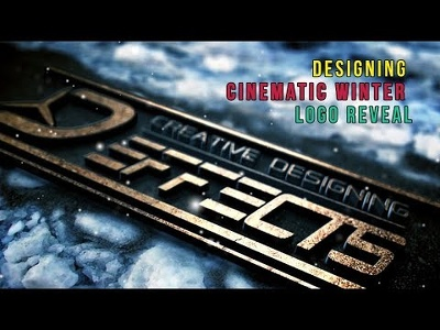 Design Cinematic Winter Logo Reveal