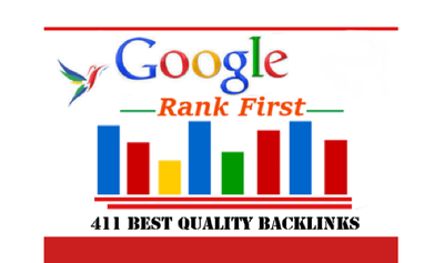 I will Increase Your Ranks to the First Page Google with 411 BL