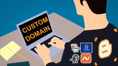 Add custom domain in your blogger blog spot blog site