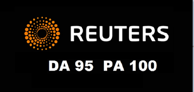 Publish Press Release on Reuters.com ( DA 95 ) Do follow
