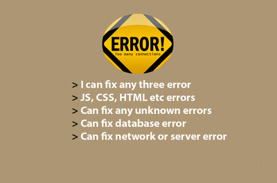 Fix any 3 errors in wordpress/magento/drupal/joomla/php/mysql