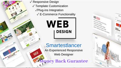 Design A Responsive Website For You