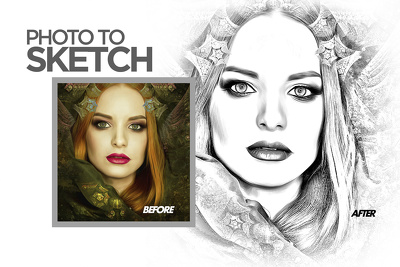 Create a sketch in your best photo
