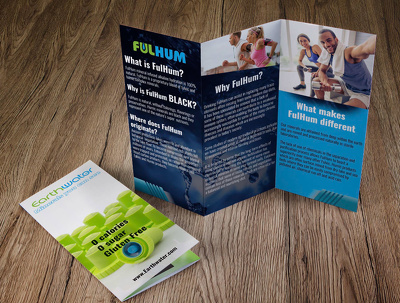 Design promotional custom size brochure to boost your sales