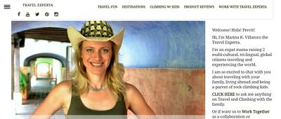 Guest post on Travelexperta.com Travel website - DA 46