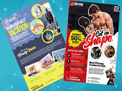 Design Flyer Design or Poster Design For Your Event,Business Etc