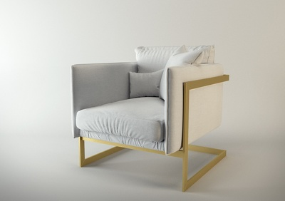 3D model furniture pieces and products (Low & high poly)