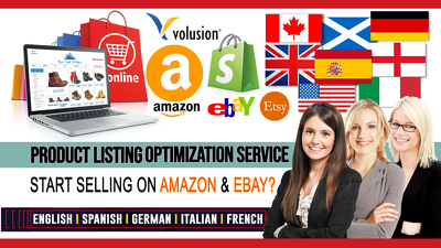 SEO Amazon Listings, Amazon Listing Optimization & PPC Keywords