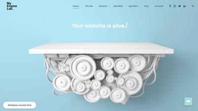 Bespoke responsive Wordpress website - super fast loading