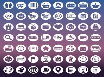 Design 10 flat icons/ web icons/ app icons/ printing icons