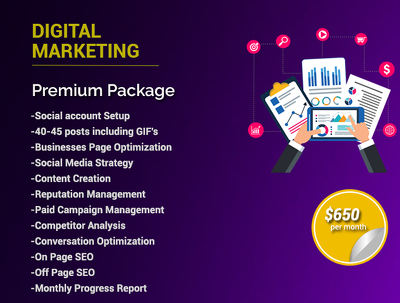 Digital Marketing - Premium Package/month